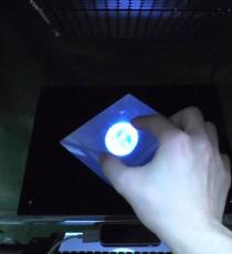 空中超音波による定在立体触覚像