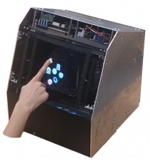 HaptoMime: Mid-air Haptic Virtual Touch Panel