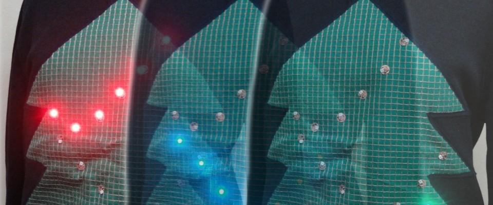 衣服の上に構成するウェアラブル・ネットワーク