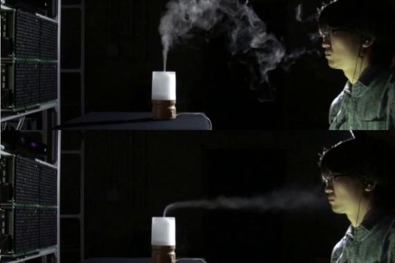 超音波ベッセルビームによる空中匂い輸送