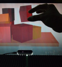 Midair Haptics by Airborne Ultrasound Tactile Display (AUTD)
